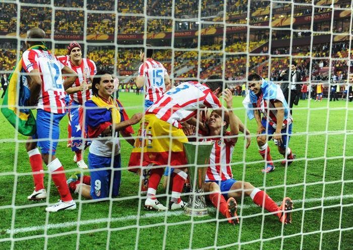 «Атлетико»  —   «Атлетик» —  3:0. Фоторепортаж  и видео с финального матча Лиги Европы. Фото: Scott Heavey/Getty Images