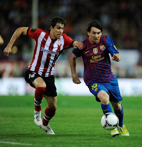 «Барселона»  выиграла у  «Атлетика» кубок Испании. Фоторепортаж и видео с матча. Фото:  Angel Martinez/Getty Images