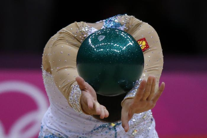 Фоторепортаж о выступлении Дарьи Дмитриевой в финале Олимпиады. Фото: Jamie Squire / Getty Images