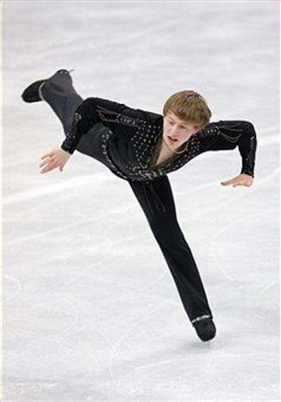 Фигурное катание. Александр Майоров из Швеции завоевал бронзу. Фото: Chung Sung-Jun/Getty Images