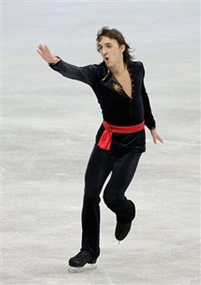 Фигурное катание. Фигурист из России Артур Дмитриев-младший занял  восьмое место. Фото: Chung Sung-Jun/Getty Images