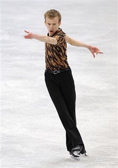Фигурное катание. Андрей Рогозин из Канады завоевал золото. Фото: Chung Sung-Jun/Getty Images
