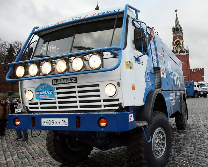 Kamaz-Master rall. Фото:  NATALIA KOLESNIKOVA/AFP/Getty Images