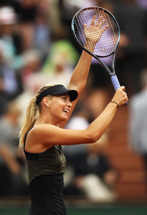 Мария Шарапова вышла в финал турнира Roland Garros. Фоторепортаж с матча из Парижа. Фото: Clive Brunskill/Getty Images