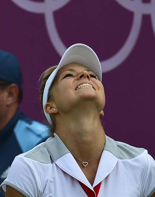 Мария Кириленко на Олимпийском турнире в Уилмбдоне. Фоторепортаж. Фото:  LUIS ACOSTA/AFP/GettyImages