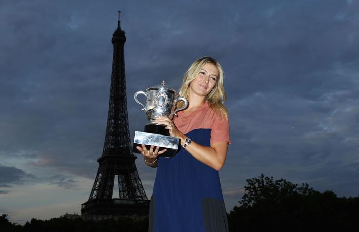 Мария Шарапова стала победительницей турнира Roland Garros. Фоторепортаж. Фото: Mike Hewitt/Getty Images