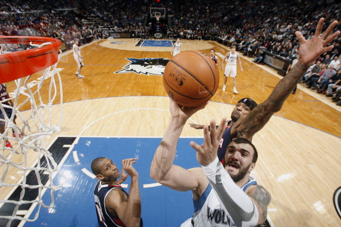 «Миннесота» победила «Атланту». Фото:  David Sherman/NBAE via Getty Images
