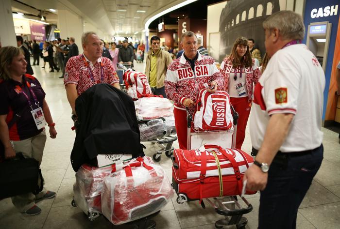 Спортсмены, тренеры и чиновники олимпийских комитетов прибыли в Лондон