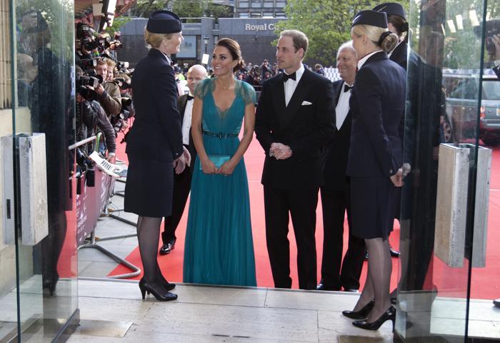 Гости на Олимпийском концерте в Лондоне. Фоторепортаж из  Royal Albert Hall. Фото: Alastair Grant -WPA Pool/Getty Images