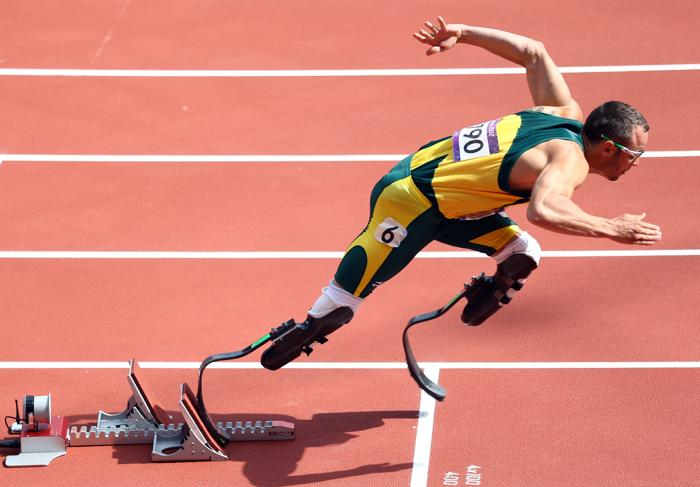 Оскар Писториус (Oscar Pistorius).  Фото: Paul Gilham/Getty Images
