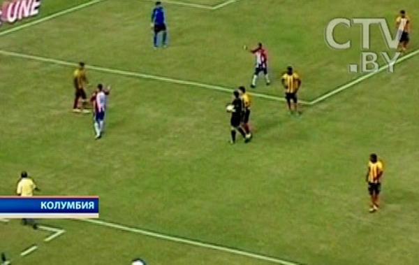 Футболист пнул сову на поле во время матча,  которая вскоре умерла. Фото с сайта elheraldo.co