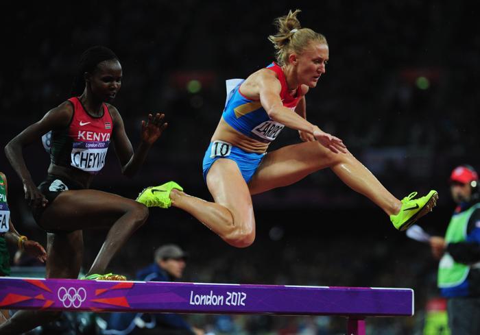 Юлия Зарипова завоевала Олимпийское золото в беге с препятствиями на дистанции 3000 м. Фоторепортаж. Фото: Streeter Lecka/Getty Images