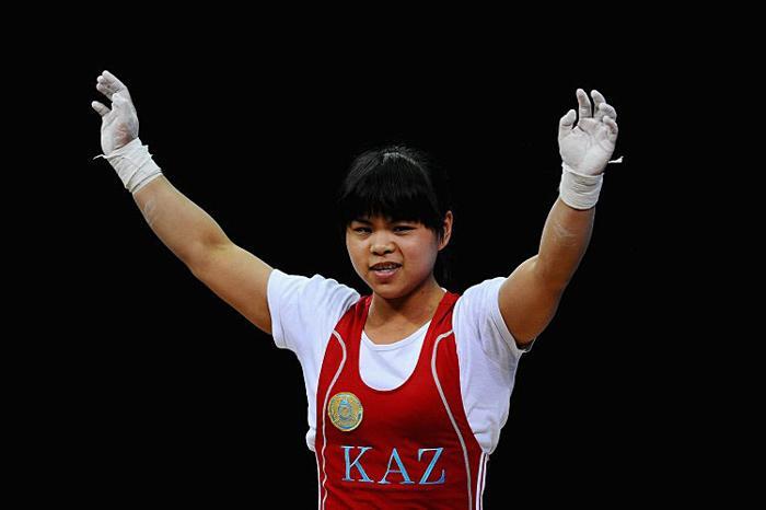 Зульфия Чиншанло на Олимпийских играх 2012 года в Лондоне представляла Республику Казахстан. Фото: Laurence Griffiths/Getty Images