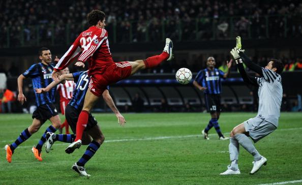 «Интер Милан» -  «Бавария Мюнхен» 0:1. Фото: Valerio Pennicino/Lars Baron/Bongarts/Getty Images