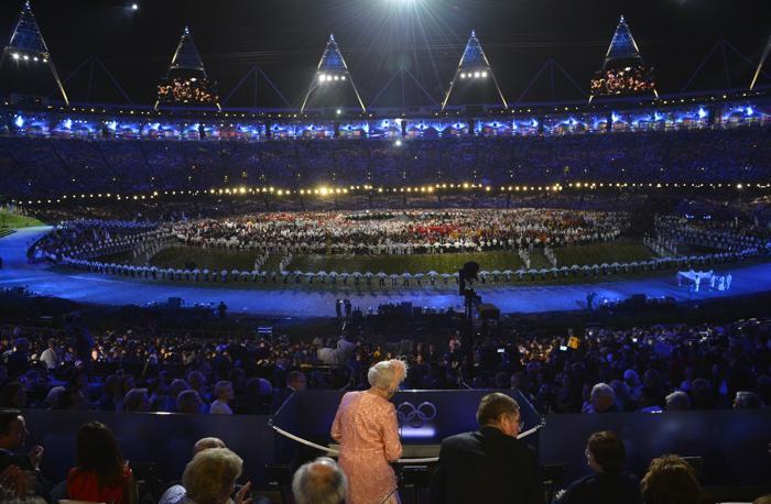 На открытии XXX летних Олимпийских игр в Лондоне.  Фоторепортаж. Фото: Pascal Le Segretain/Getty Images