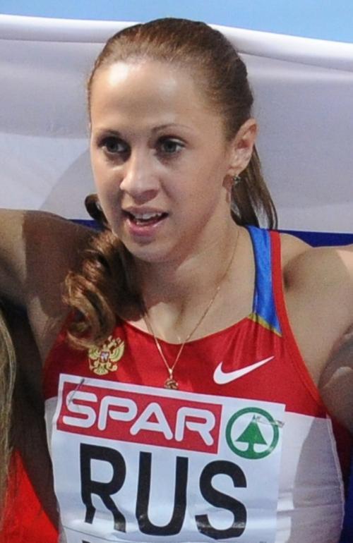 Kseniya Vdovina. Фото:  FRANCK FIFE/AFP/Getty Images