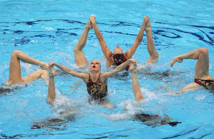 Российские синхронистки на Олимпиаде в Лондоне завоевали золото. Фоторепортаж. Фото: Clive Rose/Getty Images