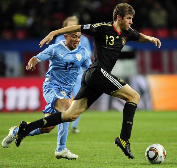 «Золотая бутса» в этом году досталась полузащитнику сборной Германии Томасу Мюллеру. Фото: Joern PollexP/Getty Images