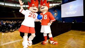 Талисманы Евро – 2012 представлены в Варшаве. Фото с сайта  evro-2012.org