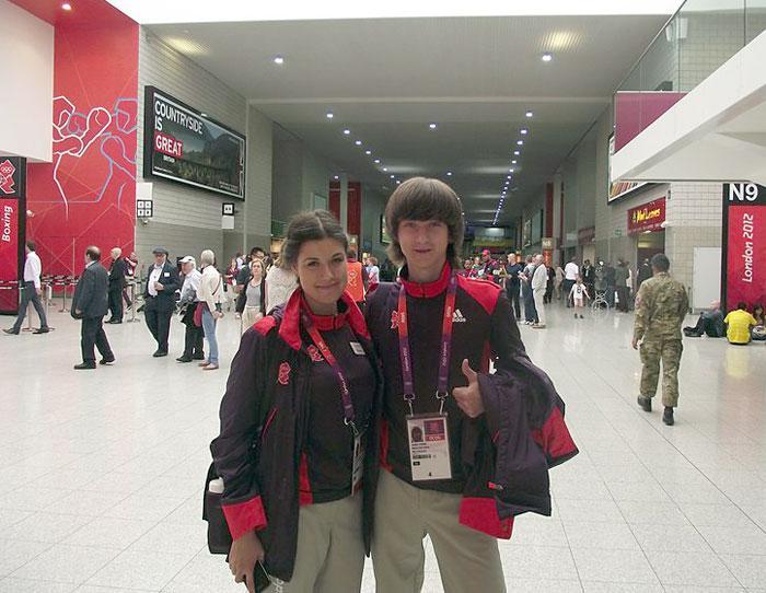 Трудовые будни волонтера в Лондоне. Фото предоставлено пресс-службой НОУ МФПУ