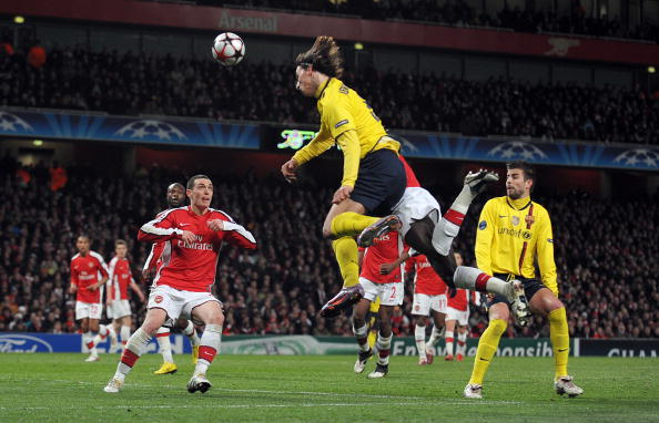 «Арсенал» – «Барселона». Фото: Shaun BOTTERILL /Getty Images