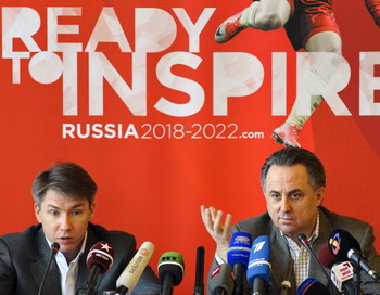 Заявка России на ЧМ 2018 года будет рассмотрена ФИФА в Цюрихе . Фото: FABRICE COFFRINI/AFP/Getty Images
