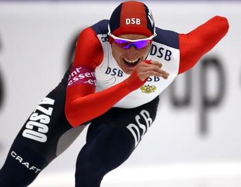 Конькобежец Иван Скобрев серебренный и бронзовый призер Олимпиады. Фото: Christof KOEPSEL/Bongarts/Getty Images
