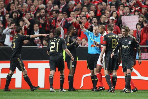 «Бенфик» -  «Ливерпуль». Фото: Ian WALTON/Getty Images
