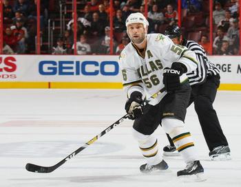 Сергей Зубов стал лучшим защитником КХЛ  января 2010 года. Фото: Bruce BENNETT/Getty Images