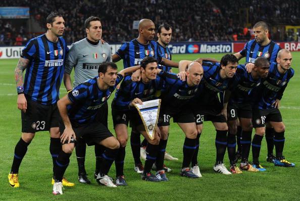 Рейтинг IFFHS лутших футбольных команд. «Интер» (Италия). Фото: Filippo MONTEFORTE/AFP/Getty Images