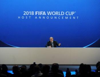 ЧМ 2018 года по футболу пройдет в России. Фото: PHILIPPE DESMAZES/AFP/Getty Images