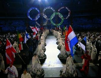 Официальный список  сборной России на ХХI Зимние Олимпийские игры в Ванкувере. Фото: Frederick M. BROWN/Getty Images