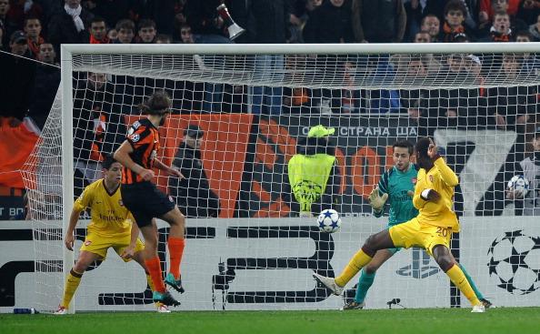 «Шахтер» взял реванш над  «Арсеналом». Фото:  SERGEI SUPINSKY /Getty Images Sport