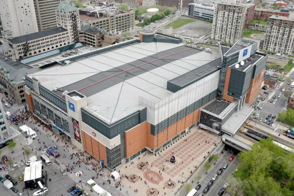 Белл Центр в Монреале, Квебеке, Канада. Фото: Richard WOLOWICZ/Getty Images