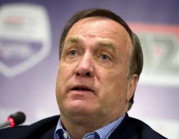 Дик Адвокат объявил состав на товарищеский матч с Болгарией. Фото: Ed OUDENAARDEN/AFP/Getty Images