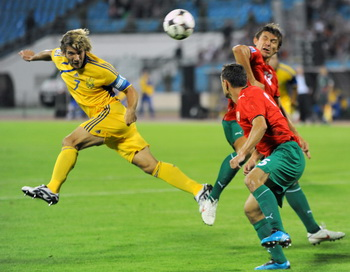 Андрей Шевченко завершает свою карьеру футболиста. Фото: VIKTOR DRACHEV/AFP/Getty Images