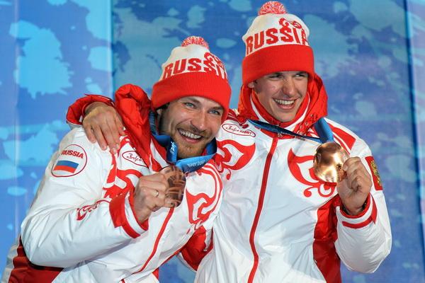 Алексей Петухов и Николай Морилов. Фото: Doug PENSINGER/Getty Images
