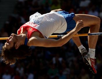 Иван Ухов победил в прыжках под музыку в Арнштадте. Фото: Mark DADSWELL/Getty Images