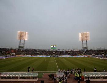 Матч  Россия - Болгария состоится на стадионе «Петровском» в Санкт-Петербурге. Фото: Vladimir RYS/Bongarts/Getty Images