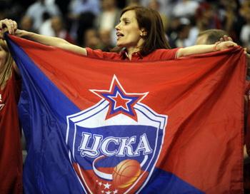 Московский ЦСКА восьмой раз подряд стал чемпионом России. Фото: John MACDOUGALL/AFP/Getty Images