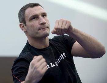 Виталий Кличко. Фото: Marcel BIERI/Bongarts/Getty Images