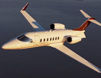 Самолет Learjet из Ливии приземлился в Каире. Фото с сайта bizavnews.ru