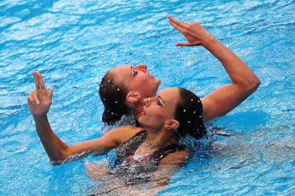 Наталья Ищенко и Светлана Ромашина. Фоторепортаж. Фото: DANIEL MIHAILESCU/AFP/Getty Images