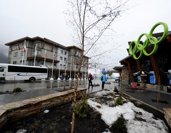 Олимпийская деревня Ванкувер. Фото: JAVIER SORIANO/AFP/Getty Images