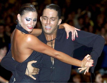 Чемпионат мира по латиноамериканским танцам 2011. Фото: Anja Heinemann/Bongarts/Getty Images