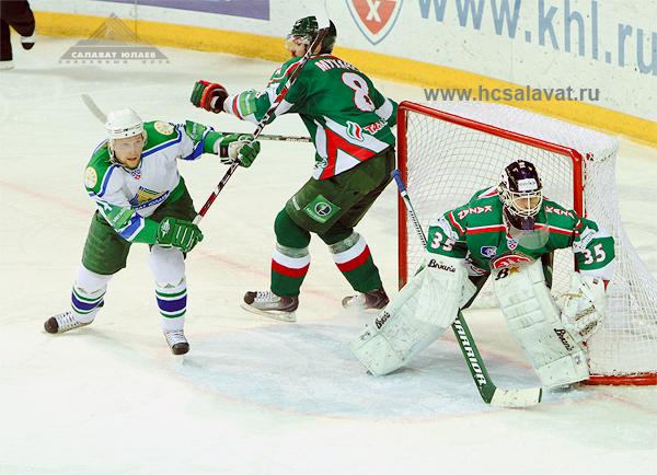 «Ак Барс» - «Салават Юлаев». Фото с сайта hcsalavat.ru