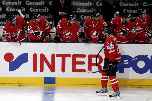 Сборная Канады. Фото: Alex GRIMM/Bongarts/Getty Images