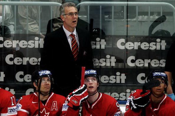 Крейг Мактевиш – главный тренер сборной Канады. Фото: Alex GRIMM/Bongarts/Getty Images