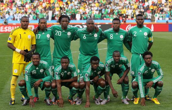Сборная Негерии. Фото: Chris McGRATH /Getty Images
