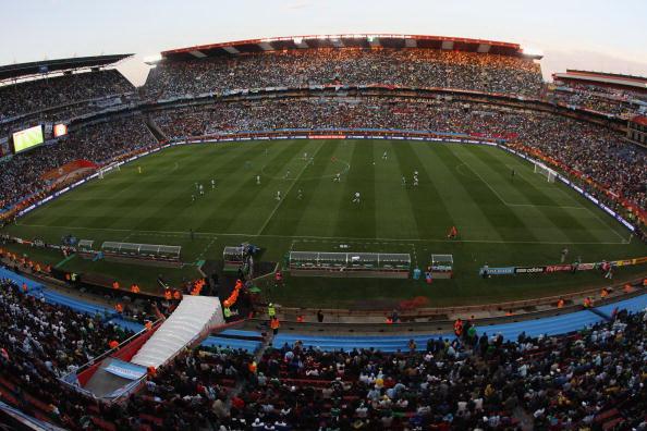 Йоханнесбург, Южная Африка - стадион Эллис Парк: Кубок мира 2010.  Аргентина - Нигерия. Фото: Streeter LECKA/Getty Images